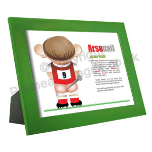 Arsenal framed print 22cm x 28cm