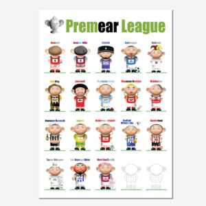 Premear League Poster