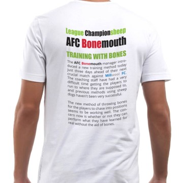 AFC Bonemouth T-shirt (back)