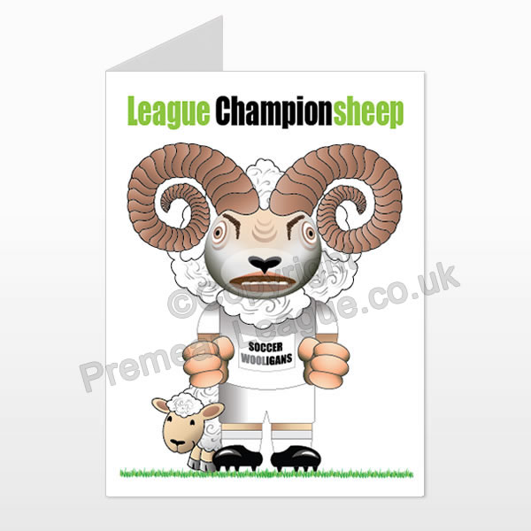 Leeds Unutted printed birthday card (front)