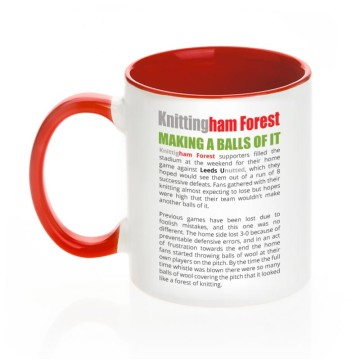 Knittingham Forest mug (reverse)