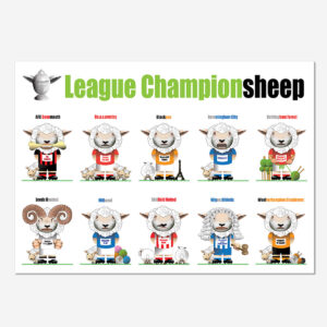 League Championsheep Poster